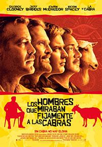Los hombres que miraban fíjamente a las cabras