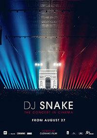 Dj Snake. The Concert in Cinema