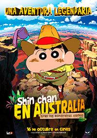 Shin Chan en Australia tras las esmeraldas verdes